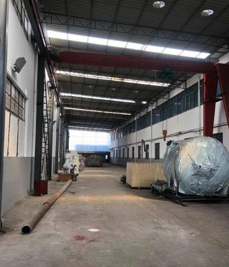 顾山优质厂房出租 有5台5吨行车 层高15米